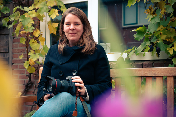 Fenneke Visscher is afscheidsfotograaf in Arnhem